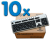 Teclado PS2 Pack 10