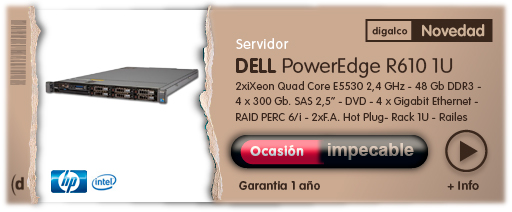 Dell Poweredge R610 Ssd
