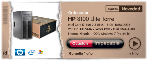 HP 8000 ELITE TORRE