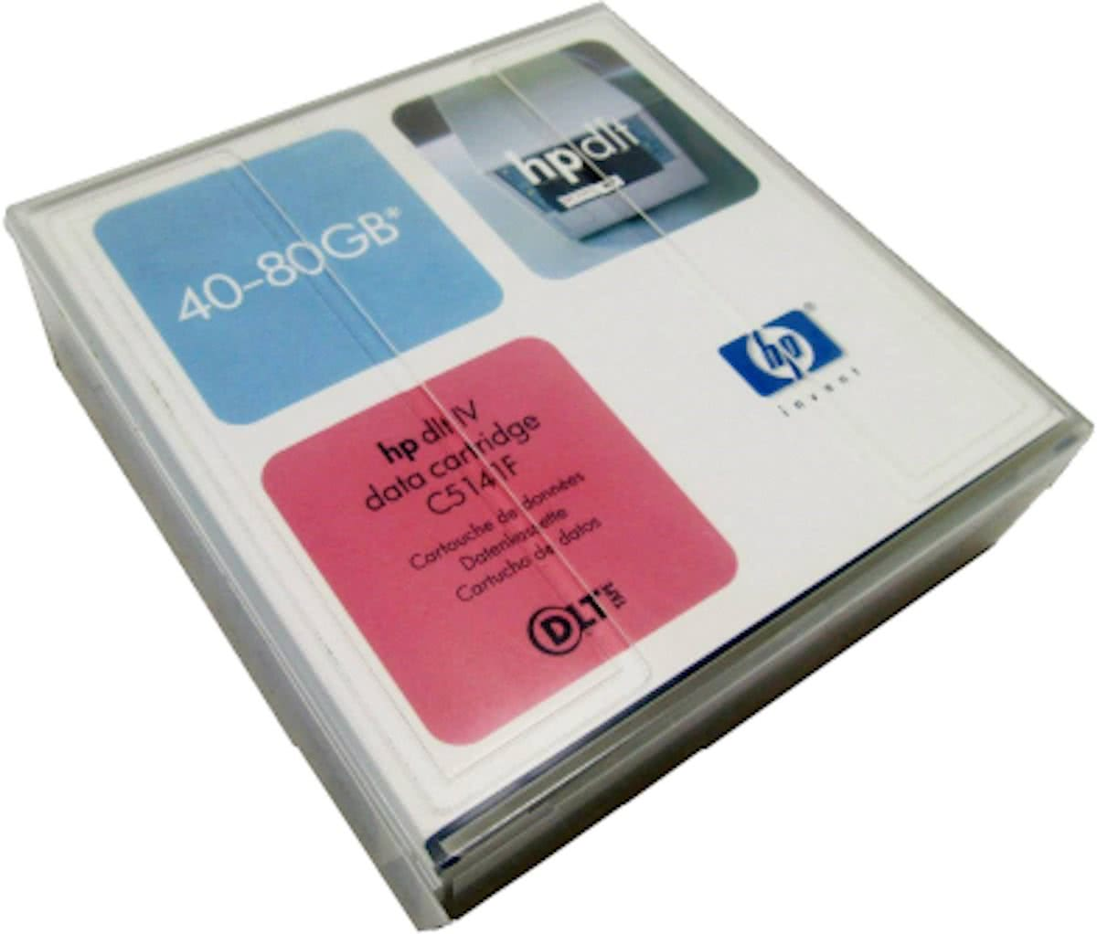 Cartucho HP DLT 4 40/80Gb.