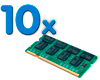 4 Gb SODIMM DDR3 Pack 10