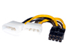 Cable Corriente 2 MOLEX a 8-pin