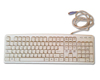 Teclado PS2 Blanco